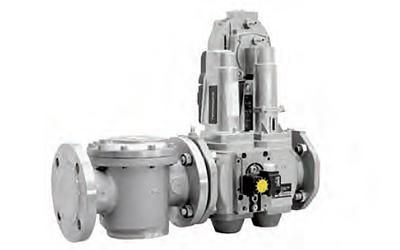 Газовая рампа с пропорциональным клапаном VGD(F)