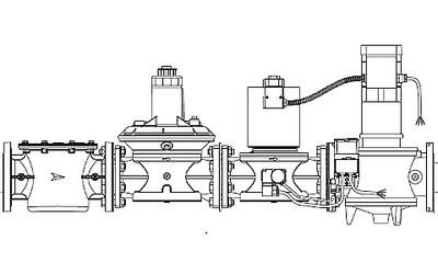 Газовые рампы двухступенчатые CB/2