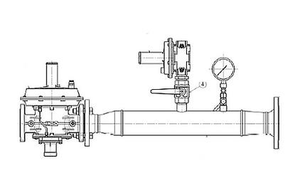 Регулятор-редуктор высокого давления газа HPR