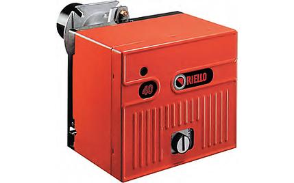 Серия Riello 40 D (дизельное топливо - газ)